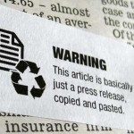 Journalism Warning Labels http://www.tomscott.com/warnings/