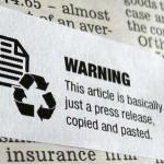 Journalism Warning Labels http://www.tomscott.com/warnings/