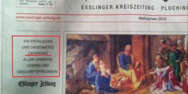 Eßlinger Zeitung Print Foto