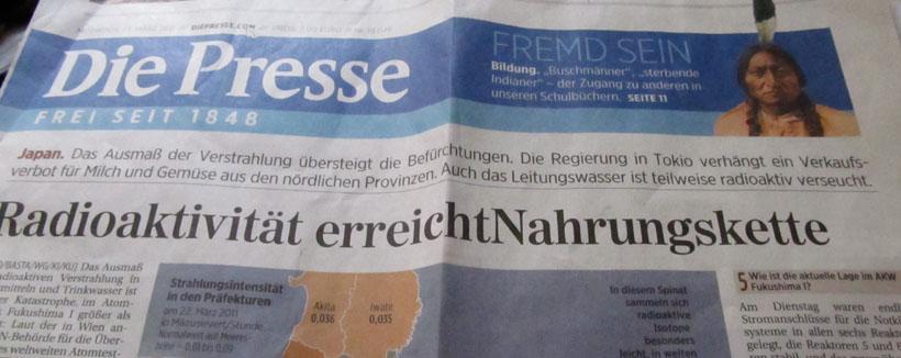 DiePresse_Titelblatt