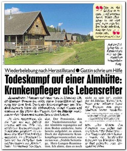 Kronen Zeitung, S. 14, 19.8.2011 (Abendausgabe v. 18.8.)