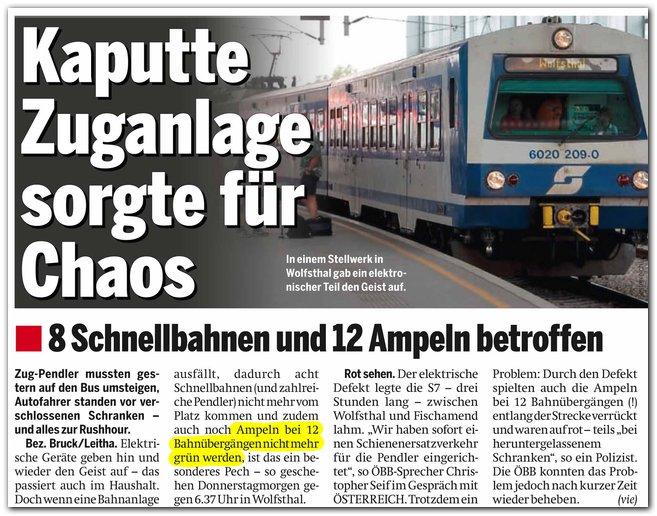 """""""Österreich"""" (NÖ-Ausgabe), 28.10.2011, S. 18"""