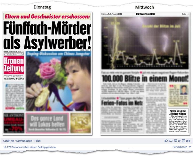 Fünffach-Mörder als Asylwerber!