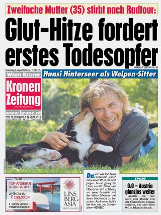 Kronen Zeitung Heute