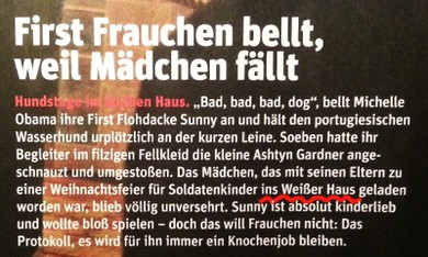 """Seite 13: """"ins Weißer Haus"""""""