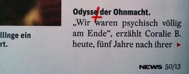 """Seite 50: """"Odysse"""" tut weh."""