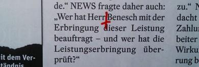 """Seite 63: """"Wer hat Herr Benesch beauftragt"""""""