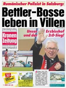 Krone SBG Bettler-Bosse leben in Villen