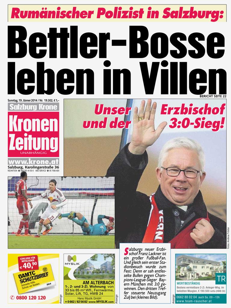 Krone Zeitung Heute