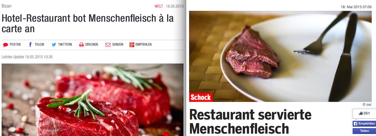 Menschenfleisch Screenshot
