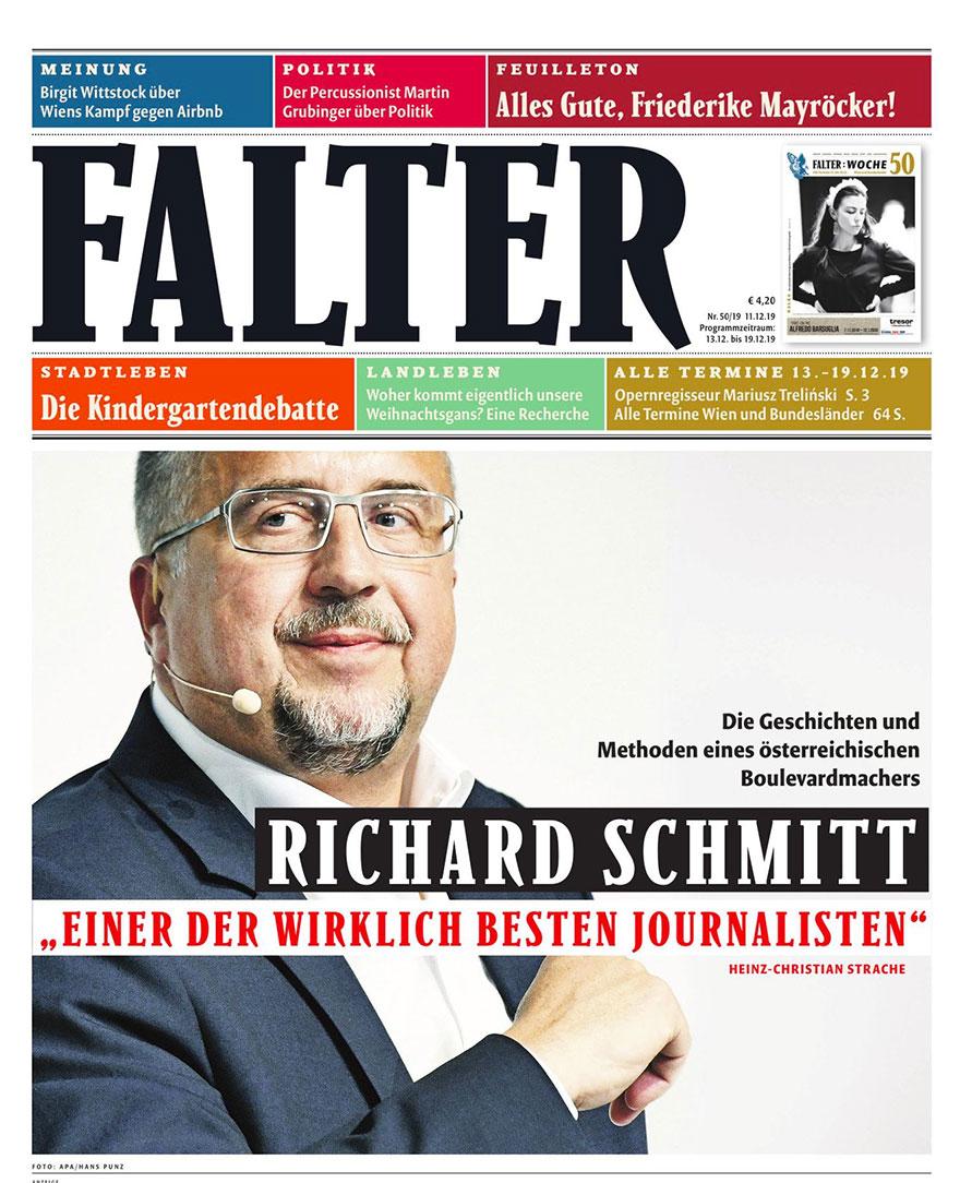 FALTER 50/19: About Schmitt