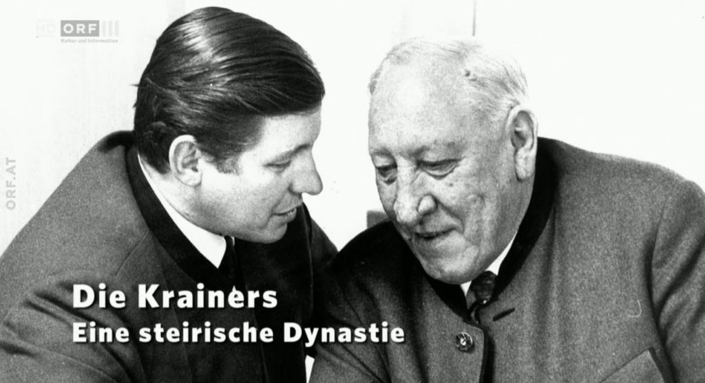 Teilten sich die Steiermark auf: Josef Krainer junior und Josef Krainer senior